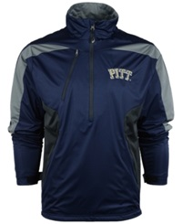 Antigua Men's Pittsburgh Panthers Discover Pullover Navy Gray