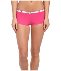 Bcbgeneration Claudia The Be Right Boyshort Fuchsia Women's Underwear Pink