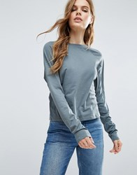 Asos T Shirt In Boxy Fit Teal Green