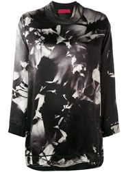 Di Liborio Printed Top Black