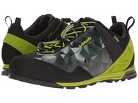 Lowa Approach Pro Gtx Lo Anthracite Lime Shoes Black