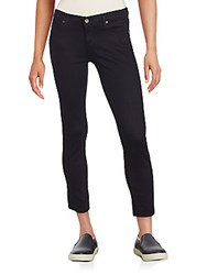 Ag Adriano Goldschmied Solid Cropped Jeans Black