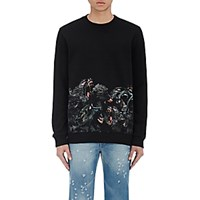 Givenchy Men's Monkey Graphic Sweatshirt Black Blue Black Blue