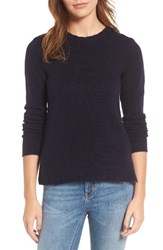 James Perse Women's Cashmere Crewneck Sweater French Navy