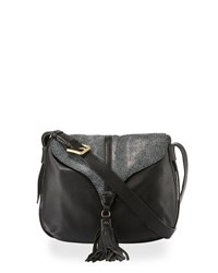 Foley Corinna Arrow Large Leather Crossbody Bag Stingray