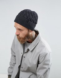 Selected Homme Beanie In Grey Anthractite