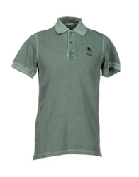 Cape Horn Polo Shirts Green