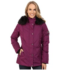Obermeyer Payge Jacket Sangria Women's Coat Red