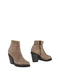 Purified Ankle Boots Dove Grey