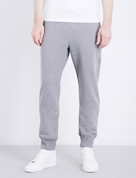 Paul Smith Bright Waistband Cotton Jersey Jogging Bottoms Grey