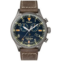 Timex Waterbury Chrono Watch Brown