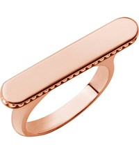 Links Of London Narrative Long 18Ct Rose Gold Vermeil Ring