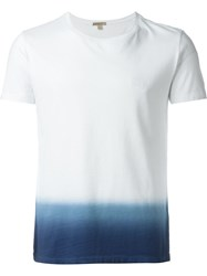 Burberry Brit Dip Dye T Shirt White