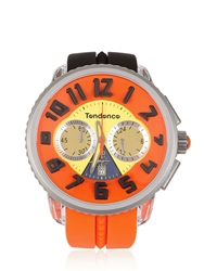 Tendence Crazy Watch Black Orange