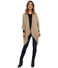 Echo Feather Weight Ruana Camel Women's Sweater Tan