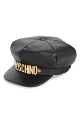 Moschino Women's Leather Cap