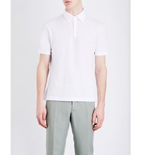 Slowear Ice Cotton Polo Shirt White
