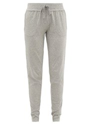 Skin Pima Cotton Track Pants Light Grey