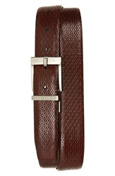 Ted Baker London Reversible Leather Belt Chocolate
