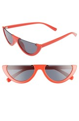 Leith 54Mm Flat Top Sunglasses Red