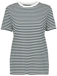 Selected Femme My Perfect Stripe T Shirt Peacoat
