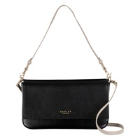 Radley Hepburn Leather Shoulder Bag Black