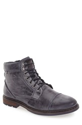 Pikolinos Men's 'Cacers' Lace Up Zip Boot Blue Leather
