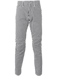 G Star Stripped Trousers Black