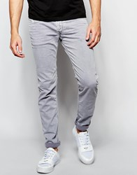Replay Jeans Anbass Slim Fit Stretch Light Gray Overdye Wash Light Gray