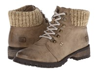 Chinese Laundry Tracker Taupe Women's Work Lace Up Boots