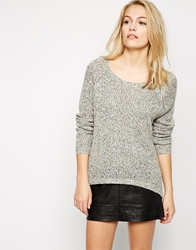 Vero Moda Light Weight Zip Front Jumper Lightgreymelange