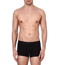 Hom Temptation Striped Trunks Black