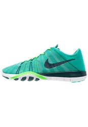 Nike Performance Free Tr 6 Sports Shoes Clear Jade Midnight Turquoise Rage Green White