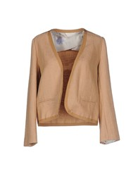 E Go Suits And Jackets Blazers Women Camel