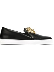 Versace Medusa Slip On Sneakers Black