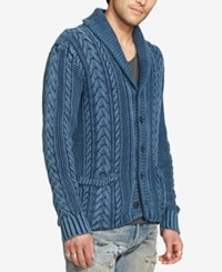 Denim And Supply Ralph Lauren Men's Cardigan Navy
