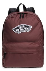 Vans Realm Backpack Purple Catawba Grape