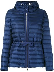 Moncler Raye Padded Jacket Blue
