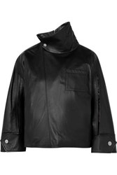 3.1 Phillip Lim Leather Top Black