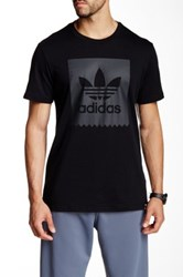 Adidas Logo Short Sleeve Tee Black