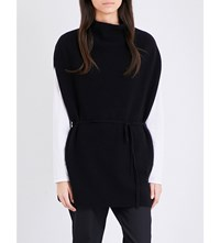 Theory Lotunia Cashmere Top Black