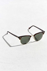 Ray Ban Tortoise Clubmaster Sunglasses Brown Multi