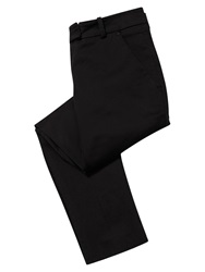 East Smart Ankle Grazer Trousers Black