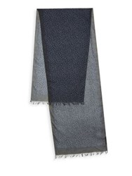 John Varvatos Micro Textured Scarf Midnight