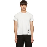 Rick Owens White Short Level T Shirt