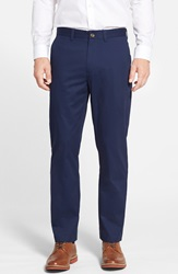 Nordstrom Wrinkle Free Straight Leg Chinos Peacoat