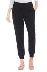 Vince Camuto Twill Jogger Pants Rich Black