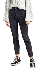 Hudson Barbara High Waist Skinny Jeans Granite