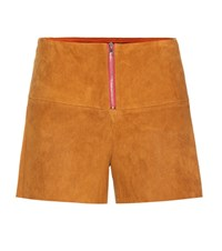 Stouls Jill Suede Shorts Brown