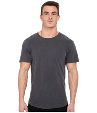 Alternative Apparel Washed Out Slub Crew Coal Men's T Shirt Gray